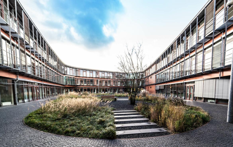 Repräsentativer Innenhof