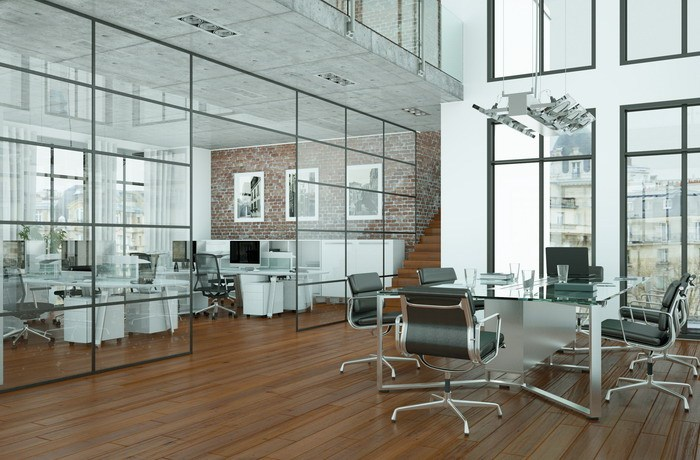 Loft-Büro