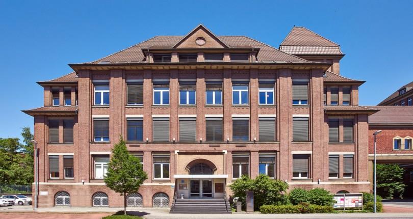 VERKAUFT BÜRO <br />Ehemalige Thyssen-Zentrale in Mülheim wechselt Eigentümer RUHR REAL vermittelt Haus der Wirtschaft an Vermögensverwaltung