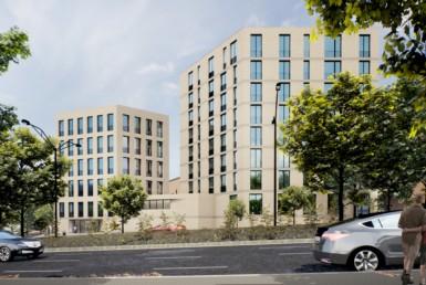 Neubau am Dortmunder Königswall: RUHR REAL vermarktet Büros