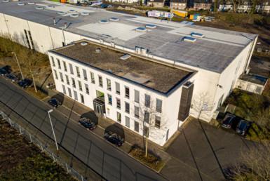 RUHR REAL vermittelt 1.600 m² Hallen- und Bürofläche an SPIE SAG GmbH