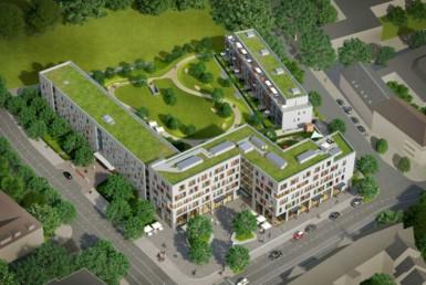 LVR-Klinikum Essen mietet 990 m² Bürofläche in den Cranachhöfen