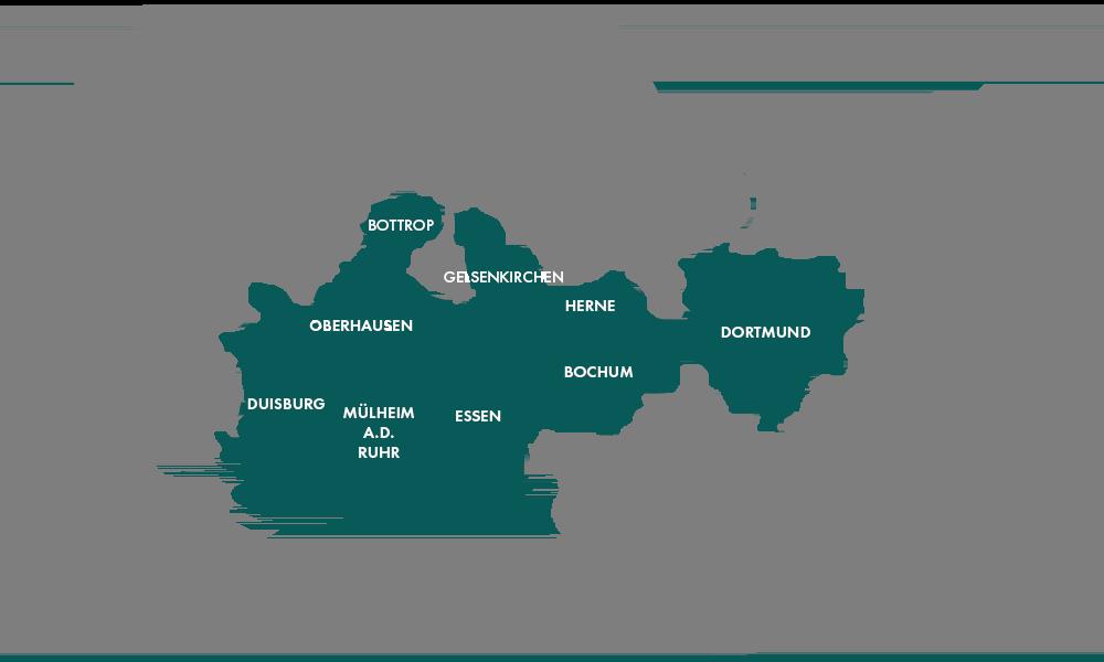Gewerbeimmobilien Ruhrgebiet