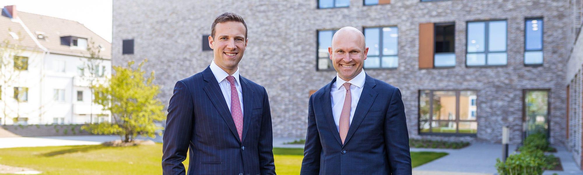 Christian Hansmann und Daniel Hartmann - Geschäftsführer der RUHR REAL GmbH