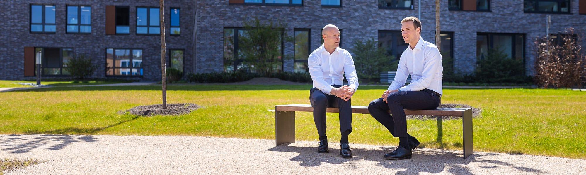 Die Geschäftsführer Daniel Hartmann und Christian Hansmann der RUHR REAL GmbH