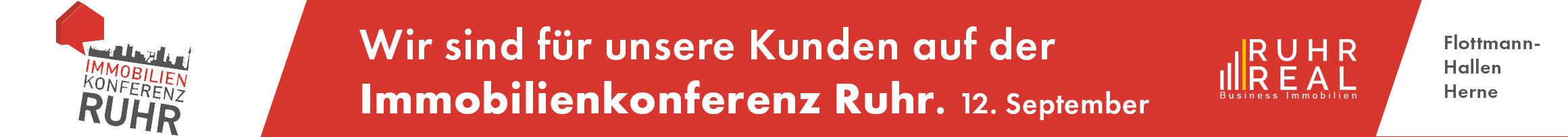RUHR REAL auf der Immobilienkonferenz Ruhr 2019